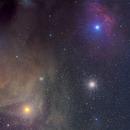 Antares, M4, and surroundings,                                Hojong Lin