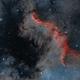 Ngc 7000 - North America Nebula (HOO),                                elvethar