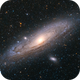 M31 Andromeda, First galaxy light for my Redcat,                                Björn Hoffmann