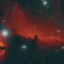 Pferdekopfnebel, IC434,                                oculum