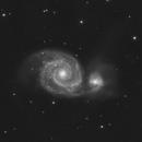 M51 - Whirlpool Galaxy,                                pmumbower