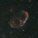NGC 6888 - Crescent, DSLR with L-Enhance,                                Enol Matilla