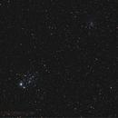 NGC 457 und NGC 436,                                tobiassimona