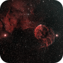 LBN 844 JellyFish Nebula HOO,                                Rafael Flores