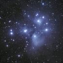 M45 - les Pléïades depuis l'Observatoire de Saint-Véran,                                Christophe de la Chapelle