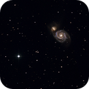 Messier 51 - Hyperbolic newton F/2.8,                                Jean-Marie MESSINA