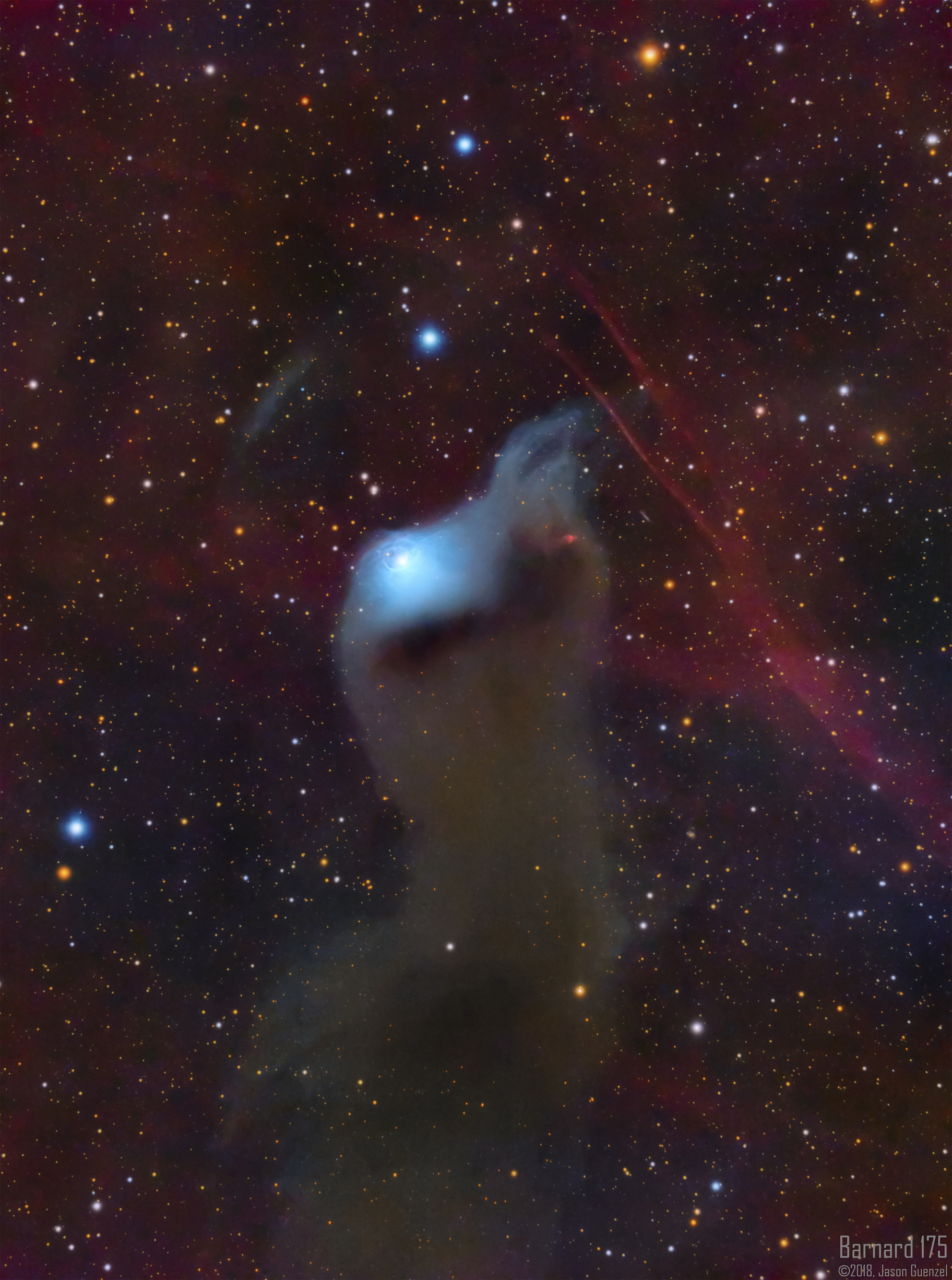 Barnard 175 - Cosmic Curiosities,                                Jason Guenzel