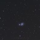 Whirlpool nebula M51,                                skysurfer