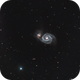 M51 (The Snail oops ... Whirlpool galaxy).,                                ofiuco
