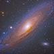 M31 - Andromeda Galaxy (Level Up),                                megoblocks