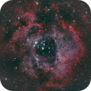 Rosette Nebula in RGB,                                Phillip