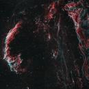 Cygnus Loop, Eastern Veil Nebula, Pickering's Triangle, Western Veil,                                Abraham Jones