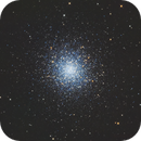 M13 - The Great Cluster in Hercules,                                Andreas Eleftheriou