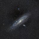 M31 (Andromeda Galaxy),                                Aman Vyas