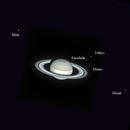 Saturn, Rhéa, Tétys, Encelade, Minas, Dioné,                                Thierry Holer