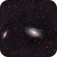 Messier 81/82 - Bode's Galaxy and the Cigar - QHY600 - Esprit 150 - LRGB,                                Eric Walden
