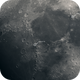 Moon & Apollo 11, 15, 17 anniversary landing sites,                                mazeppa