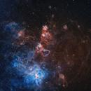 NGC 2070 - Tarántula,                                Rodrigo González Valderrama