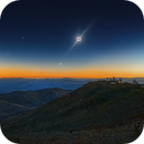 Total Solar Eclipse and the red giant Betelgeuse,                                Sebastian Voltmer