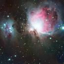Orion and Running man nebula,                                Kristof Dabrowski