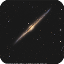 NGC 4565 in Coma Berenices - high resolution and deep field,                                Jeffbax Velocicaptor