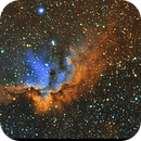 NGC7380 The Wizard Nebula (Hubble Palette),                                Marco Stra