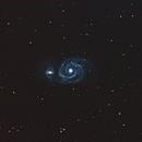 Whirlpool Galaxy (M51),                                Caneca
