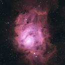 M8 (Lagoon Nebula) in HSO,                                Sebastian Sandqvist
