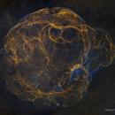 Spaghetti Nebula - Sh2-240 - SHO,                                Anis Abdul