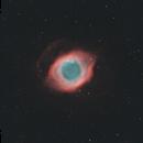 NGC 7293 - Helix Nebula (HOO),                                Yizhou Zhang