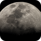 80 panel mosaic of the 9 day old gibbous Moon,                                gary259