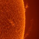 Huge solar prominence,                                Robert Schumann