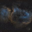 Soul Nebula in The Hubble Palette,                                Abduallah Asiri