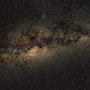 Milky Way Core - 9 July 2021,                                KiwiAstro