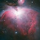 M 42, großer Orion Nebel,                                Martin Luther