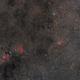 Cave Nebula to Wizard Nebula Widefield,                                Fritz