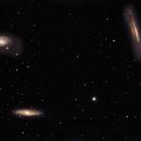 The Leo Triplet - Bortle 8/9, Full Moon Galaxy Quest Part 1,                                Timothy Martin & Nic Patridge
