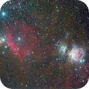 Great Orion Nebulae-M42 and Horsehead Nebulae-NGC 2023,                                Jeff Lusher