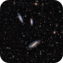The Grus Triplet: NGC 7582, 7590 and 7599 (& background galaxies),                                Alex Woronow