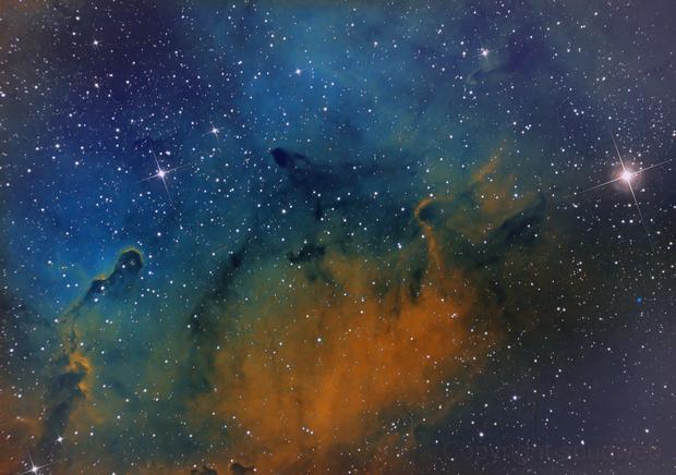 Elephant Trunk Nebula,                                John Sojka jr