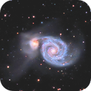 M51 The Whirlpool Galaxy,                                Victor