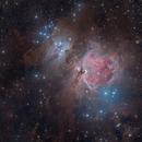 M 42 Orion Nebula,                                aalbi