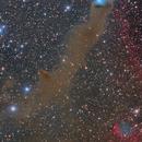 VdB 152 - Open cluster and reflection nebula,                                José Manuel Taverner Torres