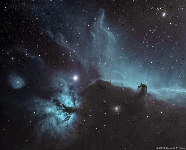 IC434 - Horsehead Nebula NB,                                Richard Bratt