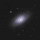 M 64 Evil Eye Galaxy,                                CCDMike