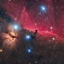 Flame Nebula - IC434 - Horsehead Nebula,                                Almos Balasi
