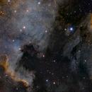 N. American Nebula & Pelican Nebula RGB+SHO,                                Bradley Hargrave