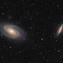 M81 and M82 in LHaRGB,                                Sergey Trudolyubov