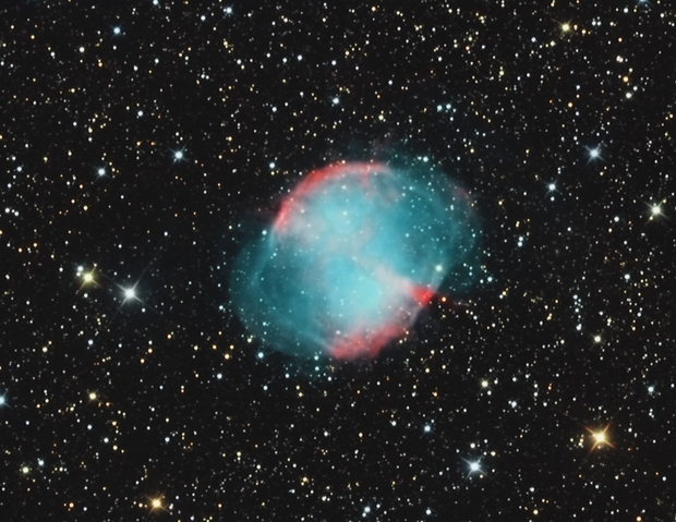 Messier 27,  Dumbbell Nebula,                                Big_Dipper