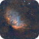 The Tulip Nebula Sh2-101,                                Carastro